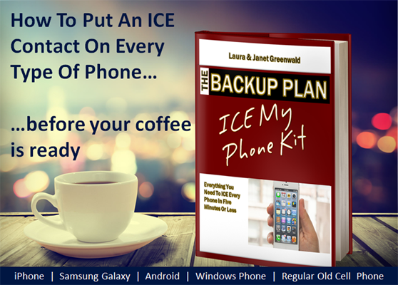 The ICE My Phone Kit | How To Put An ICE Contact On Every Type Of Phone | https://gum.co/icekit
